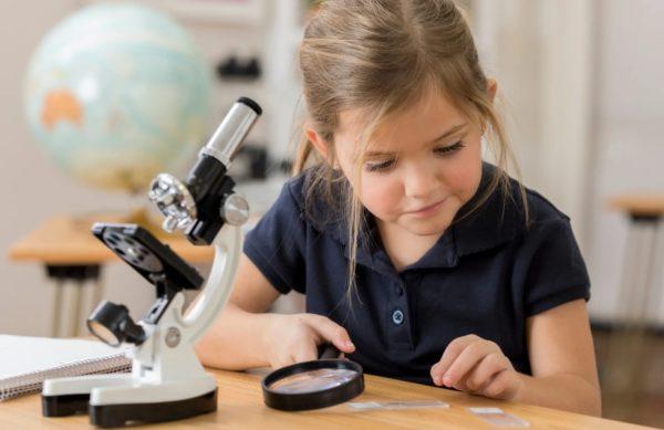 Увлечение микроскопом