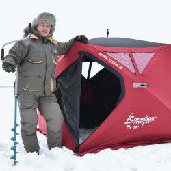 7 лучших зимних палаток для туризма или рыбалки