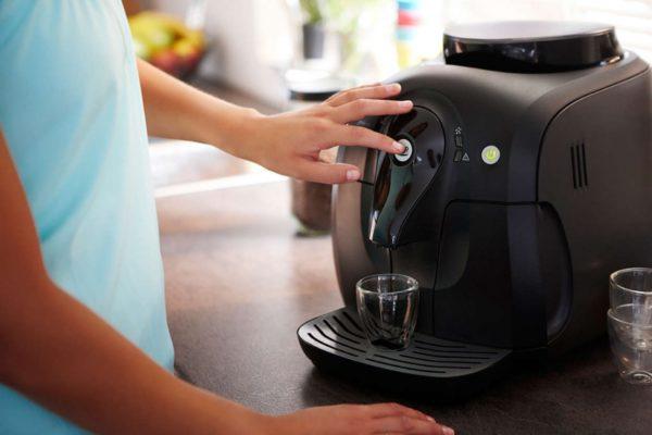 Управление кофемашиной