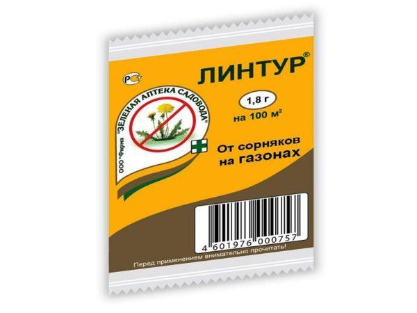 Средство для защиты садовых растений от сорняков «Линтур» 1,8 г