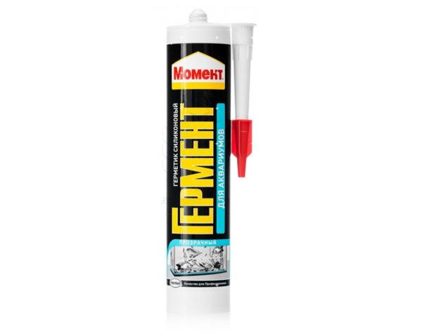 Герметик-для-аквариумов-Момент-Гермент-силиконовый-прозрачный-280мл