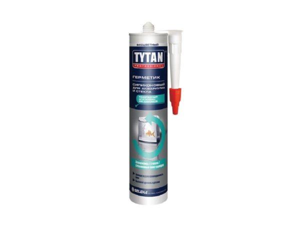 Герметик силиконовый Tytan 64233 для аквариумов прозрачный, 310 мл