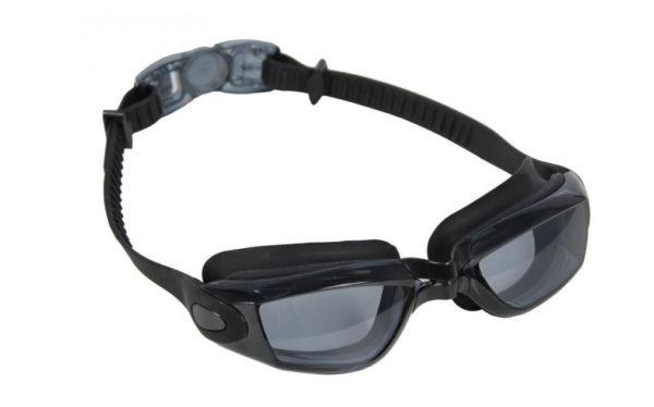 Очки для плавания Bradex серия Комфорт+, черные