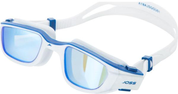 Очки-для-плавания-Joss-(белый,-синий)