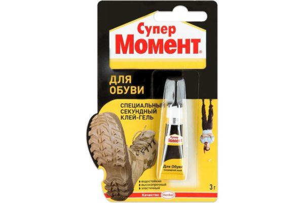 Клей обувной Момент Супер для обуви 3 г