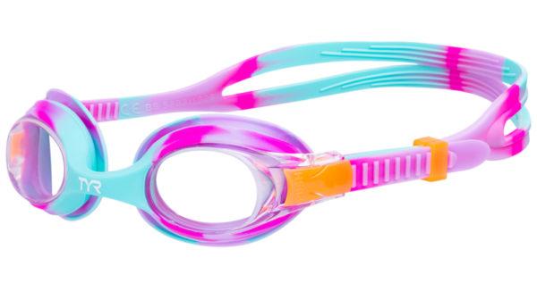 Очки TYR Kids Swimple Tie Dye Lgswtd169 (розовый)