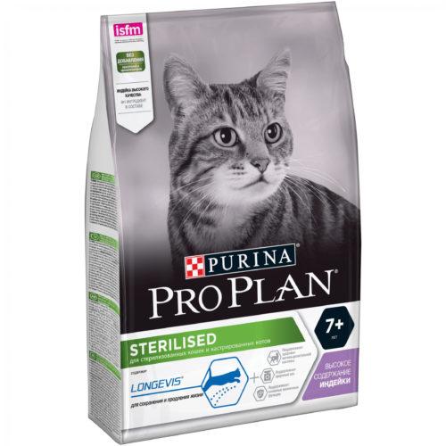 Pro Plan Sterilised с индейкой