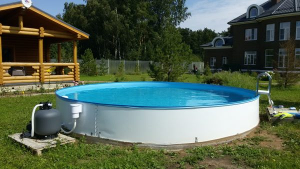 Sunny Pool Круглый