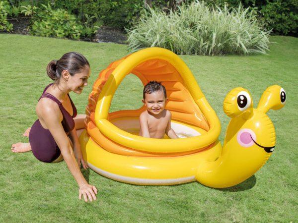 Детский бассейн Intex Lazy Snail 57124