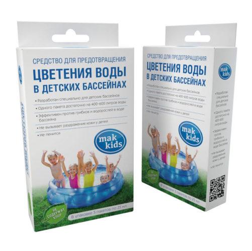 МАК-4---Препарат-без-хлора-для-дезинфекции-детских-бассейнов-«Mak-kids»,-5-пакетов-по-10-мл