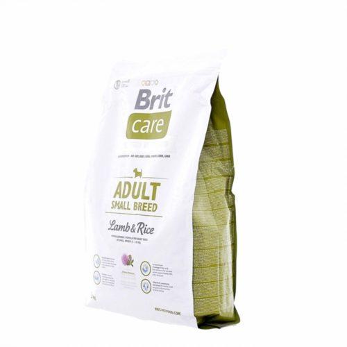 Brit Care ягнёнок с рисом (для мелких пород)