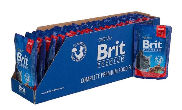 Brit Premium беззерновой с говядиной и с горошком