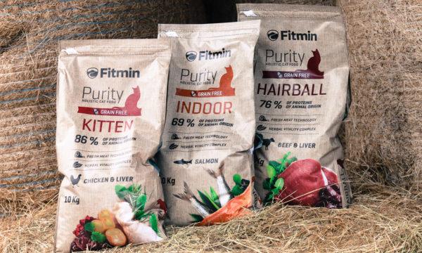 Fitmin Cat Purity беззерновой корм для котят до 12 месяцев, беременных и кормящих кошек