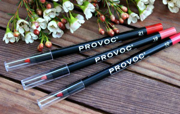 Provoc Гелевая подводка в карандаше для губ Semi-Permanent Gel Lip Liner