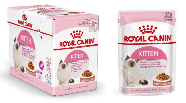 Royal Canin «Kitten Instinctive», паштет для котят с 4 до 12 месяцев
