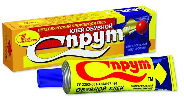 Клей для обуви Новбытхим Спрут, 50 мл