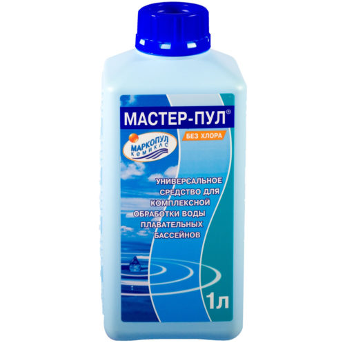 МАРКОПУЛ-КЕМИКЛС---Средство-для-бассейна-4-в-1-Мастер-Пул-1-л