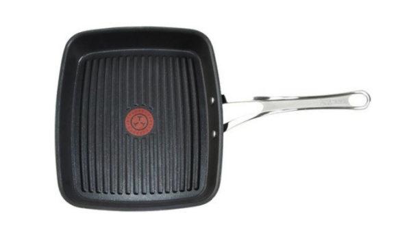 Сковорода-гриль-Tefal-Jamie-Oliver-27x23-см