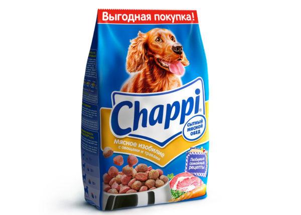 Chappi Сытный мясной обед