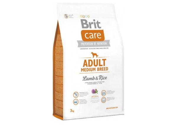 Brit Care ягненок с рисом