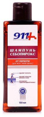 911+ шампунь Себопирокс от перхоти для всех типов волос