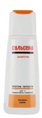 Амальгама Люкс шампунь Сульсена против перхоти шаг 1 эффективное очищение