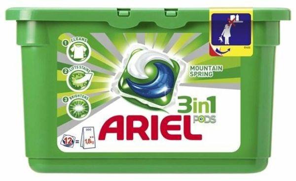 Ariel капсулы Горный родник