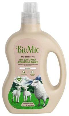 BioMio Bio-Sensitive с экстрактом хлопка для деликатных тканей