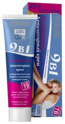 Eveline Cosmetics Ультранежный депиляторный крем 9в1