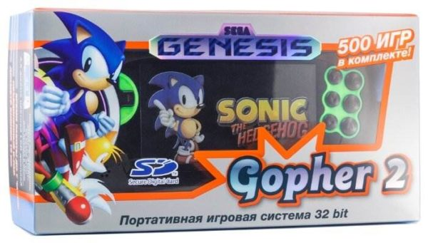 SEGA Genesis Gopher 2 (500 игр)