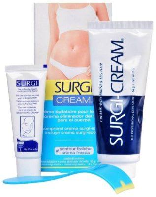 Surgi Набор для удаления волос Cream Bikini & Leg