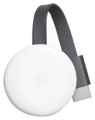 ТВ-приставка Google Chromecast 2018 черный