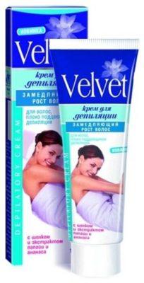 Velvet Крем для депиляции замедляющий рост волос