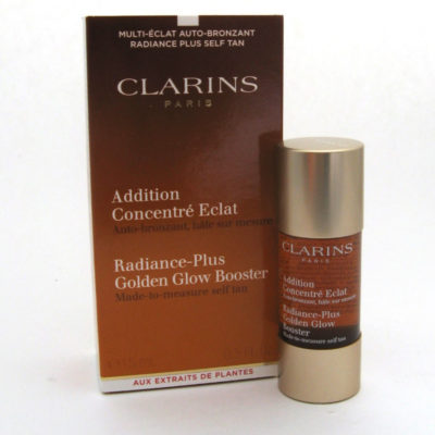 Капли для автозагара Clarins Radiance-Plus Golden Glow Booster