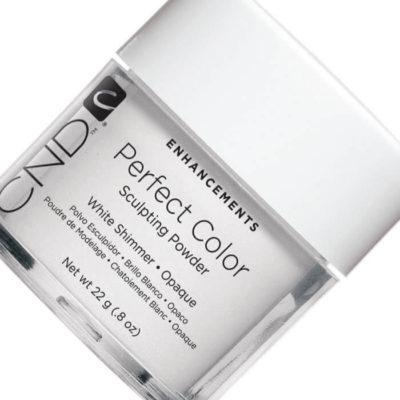 CND Sculpting Powder Perfect White Shimmer Пудра белая 22г