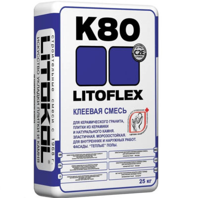 Litokol Litoflex K80 25 кг