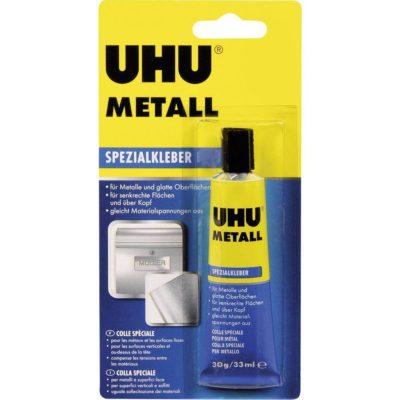 UHU 46670 Metall Контактный Клей для ремонта металла 30 гр
