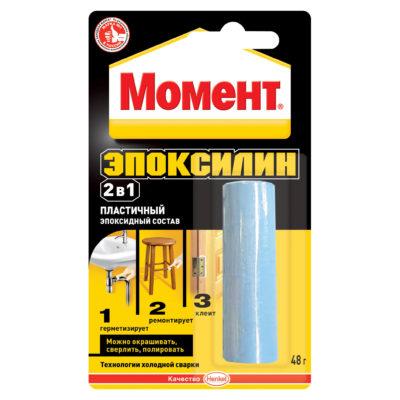 Клей эпоксидный Момент Эпоксилин металл 48 г