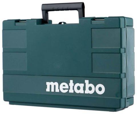 Аккумуляторная дрель-шуруповерт Metabo BS 18 LTX BL I 5.2Ah x2 Case 120 Н·м