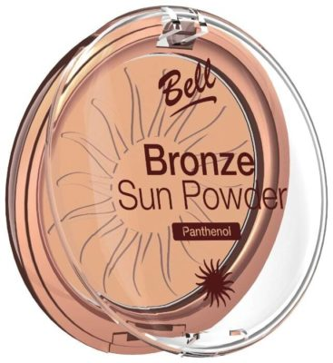 Bell Пудра бронзирующая с пантенолом Bronze Sun Powder Panthenol