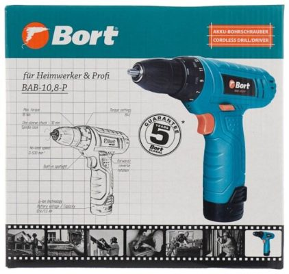 Bort BAB-10.8-P 18 Н·м