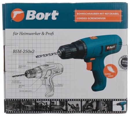 Bort BSM-250x2 280 Вт 16 Н·м