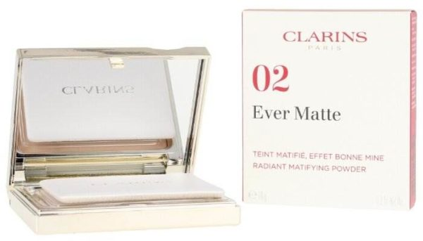 Clarins пудра компактная минеральная с матирующим эффектом Ever Matte