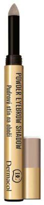 Dermacol Пудровые тени для бровей Powder Eyebrow Shadow