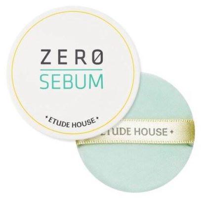 Etude House Рассыпчатая матирующая пудра Zero Sebum Drying Powder