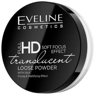 Eveline Cosmetics Пудра рассыпчатая с шелком Full HD Soft Focus Translucent Loose Powder
