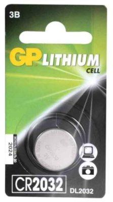 GP Lithium Cell CR2032