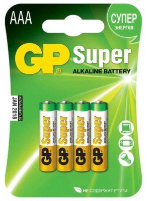 GP Super Alkaline AAA