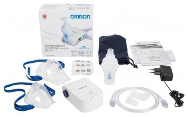 Компрессорный ингалятор (небулайзер) Omron Comp Air NE-C20 basic