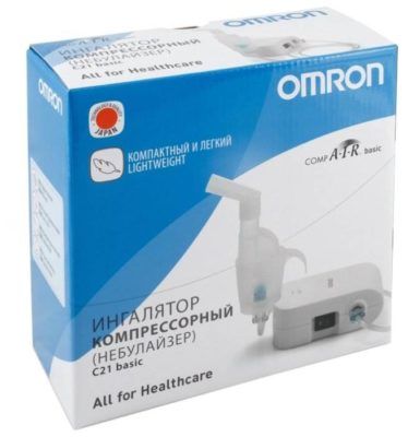 Компрессорный ингалятор (небулайзер) Omron Comp Air NE-C21 Basic